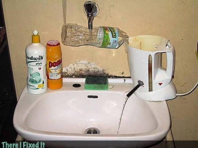 إبداع = سليم عاقل (64)خلاط -سخان ماء- مغسلة